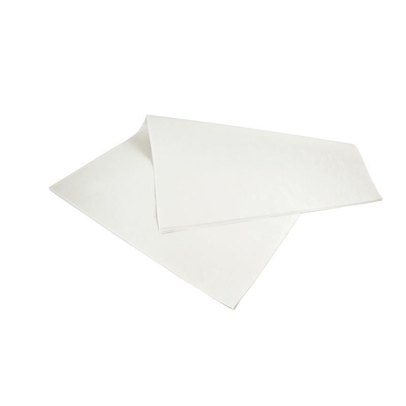 Feuille de papier blanc kraft 25 x 33 cm - densité 42 g/m² - par 10 kgs (photo)