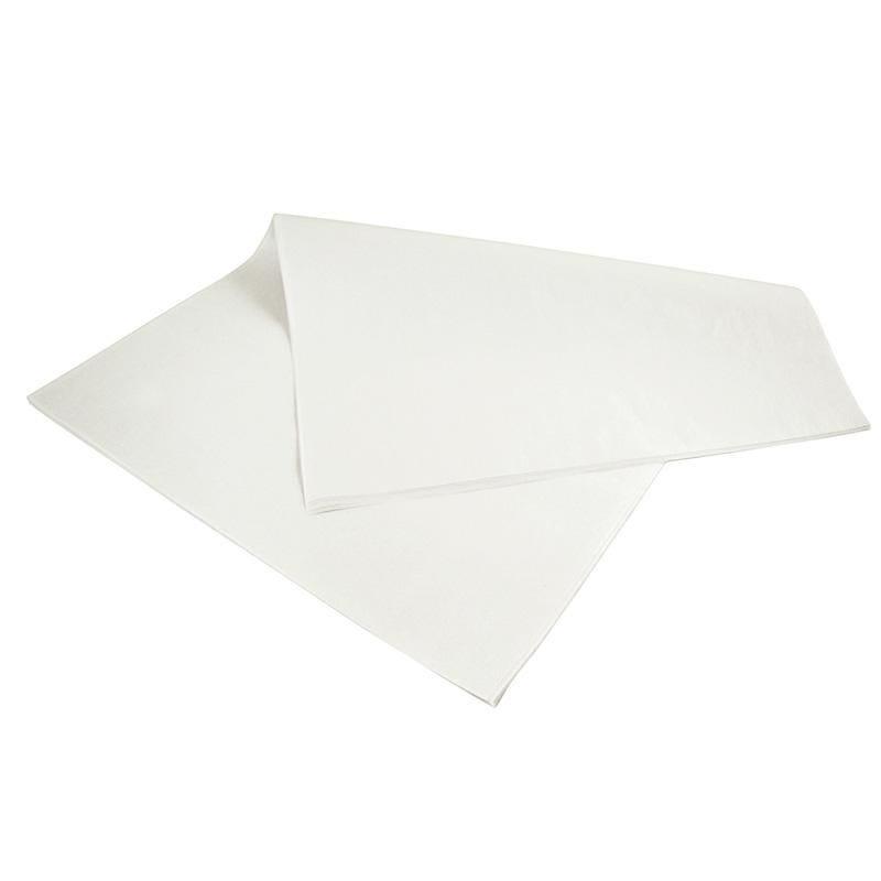 Feuille de papier blanc kraft 33 x 33 cm - par 10 kgs (photo)