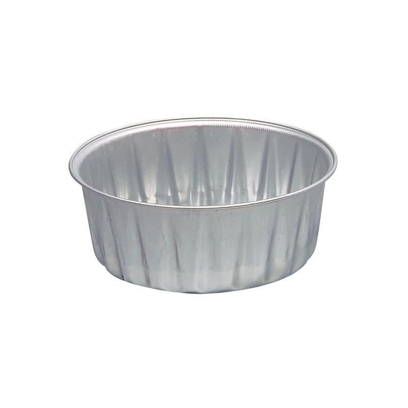 Ramequin rond aluminium - 180 cc - 18 paquets de 100 pièces (photo)