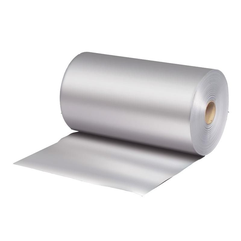 Bobine papier thermoscellable aluminium largeur 35 cm - par 10 kgs (photo)