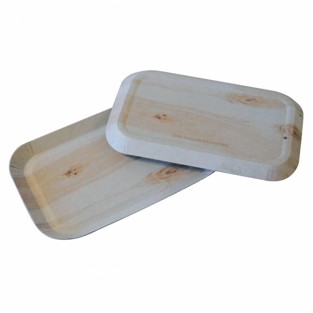 Barquette fromage carton - 39 x 16 x 37,5 - par 250 pièces (photo)