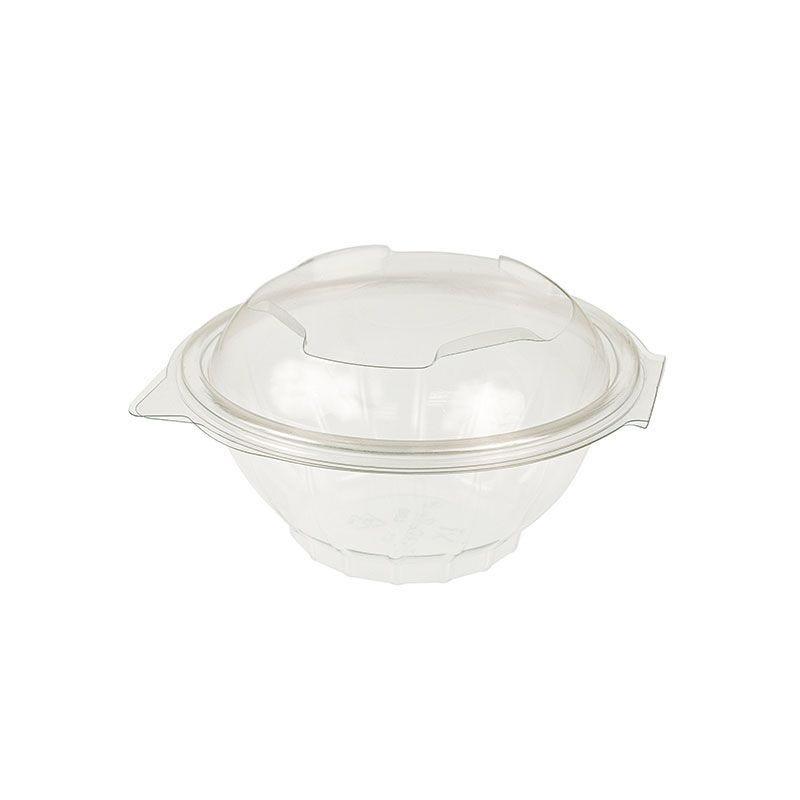 Bol salade polyéthylène avec couvercle - 370 cc - 12 paquets de 50 (photo)