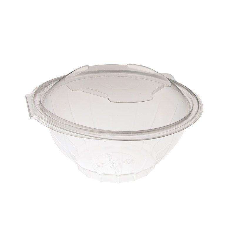 Bol salade polyéthylène avec couvercle - 750 cc - 6 paquets de 50 (photo)