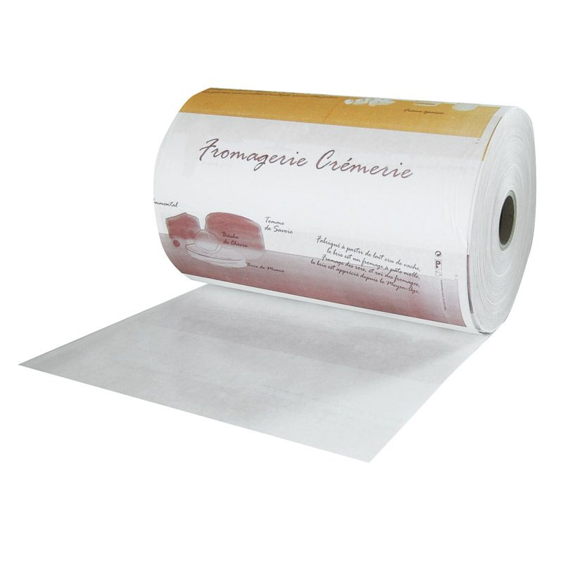 Bobine papier thermoscellable largeur 35 cm - par 10 kgs (photo)