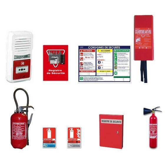 Pack protection incendie installation (photo)