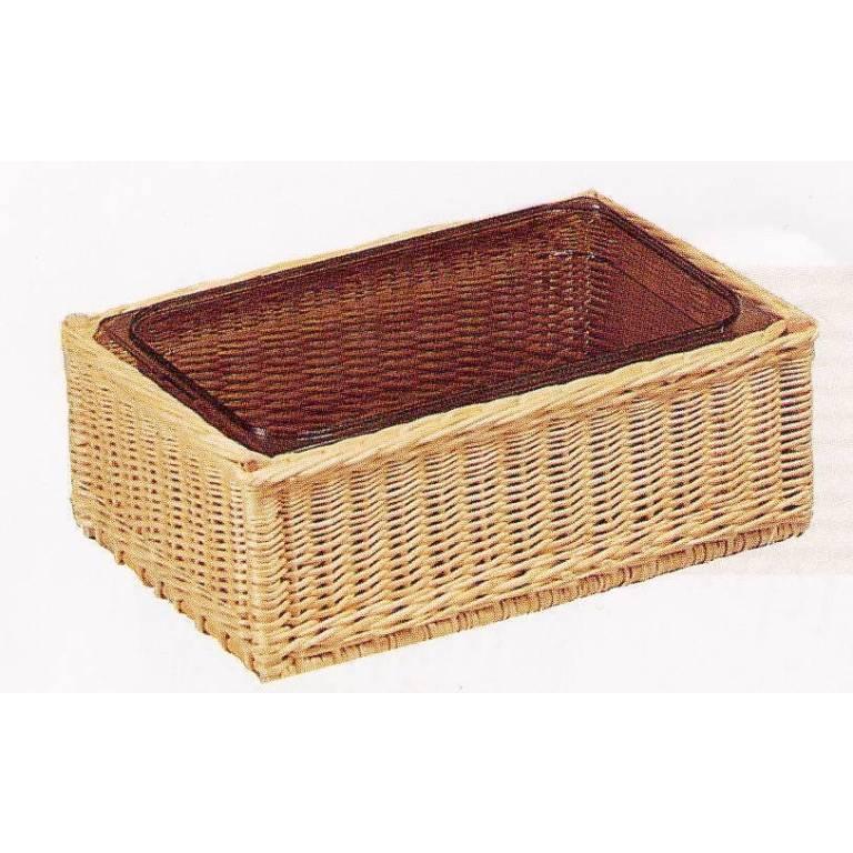 Corbeille pour bac gastronome 1/1 - 50,5 x 30 x 15 cm (photo)