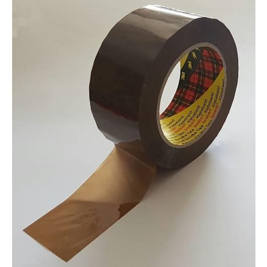 Rouleau adhésif 3m réf. 3121 marron pp acrylique 32µm 48 mm x 100 m - par 24 (photo)