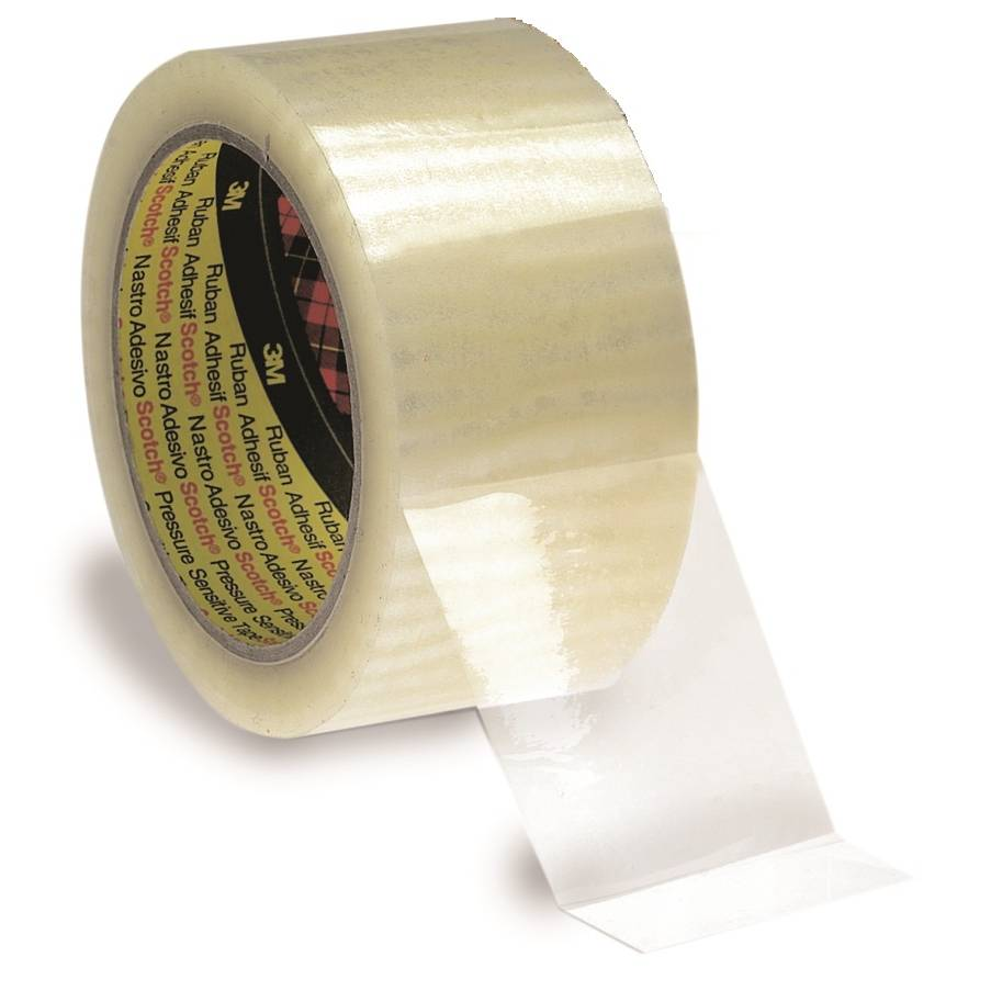 Rouleau adhésif 3m réf. 3121 transp. Pp acrylique 32µm 48 mm x 100 m - par 12 (photo)