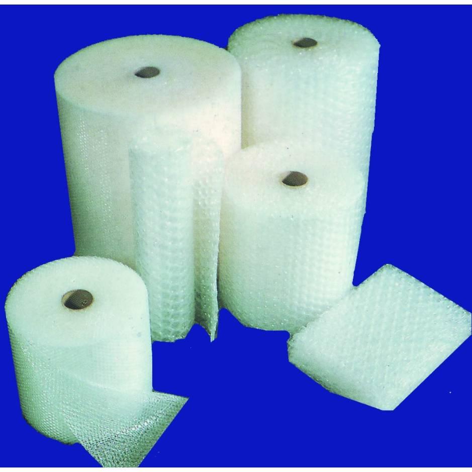 Film à bulles 10 mm tricouche 100 µ + non tissé pe 20 gr - dim. 1,15 m x 100 m (photo)