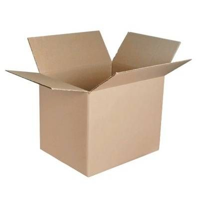 Caisse simple cannelure brune - dim. Int. 310 x 215 x 100 mm - par 25