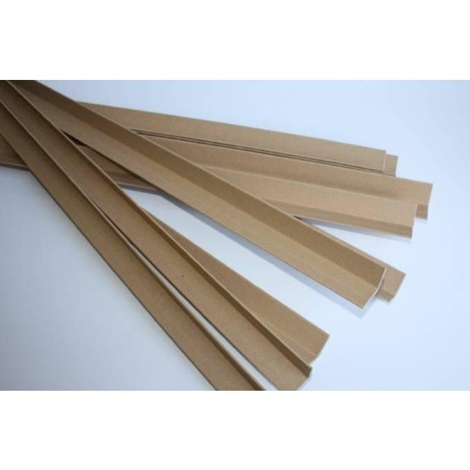 Cornière carton 70 x 70 épaisseur 5 mm - longueur 1200 mm - par 25 (photo)