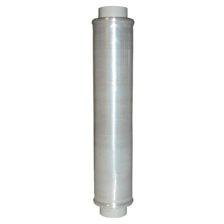 Rouleau film étirable manuel transparent 450 mm x 270 m épaisseur 23 µ - par 6 (photo)