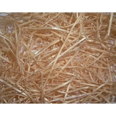 Balle de fibre de bois - bois blanc - 2/3 (photo)