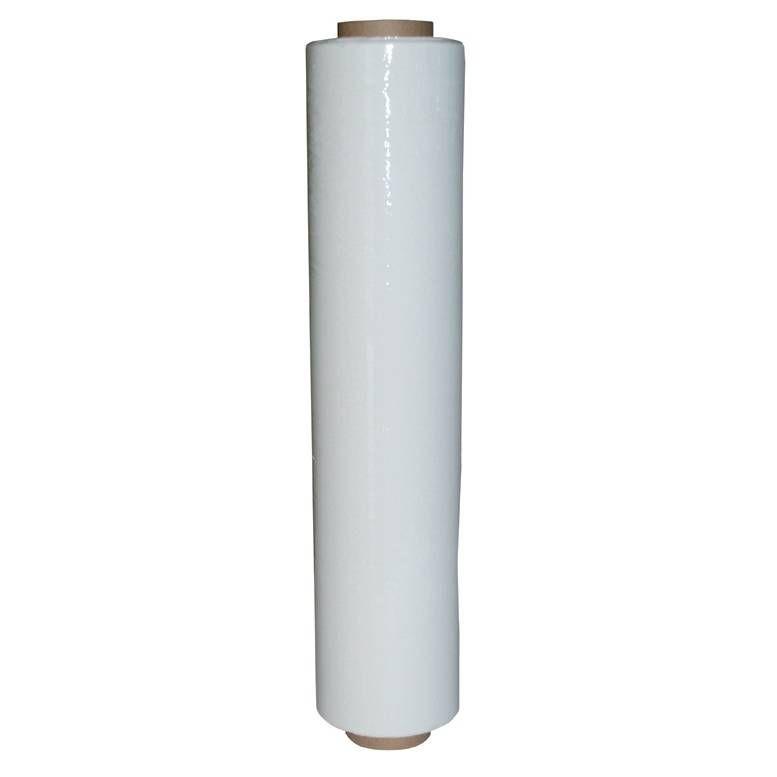 Rouleau film étirable manuel blanc 450 mm x 270 m épaisseur 20 µ - par 6 (photo)