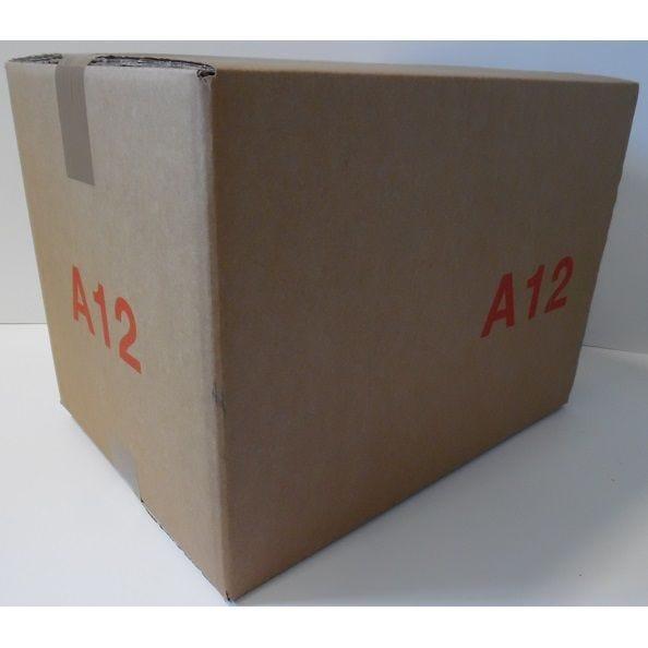 Caisse double cannelure brune - dim. Ext. 400 x 300 x 300 mm  - par 25 (photo)
