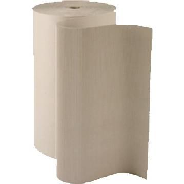 Carton ondulé en 0,60 m x 60ml - 450 gr/ m² - cannelure c