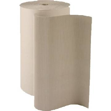 Carton ondulé en 1 m x 60ml - 450 gr/ m² - cannelure c