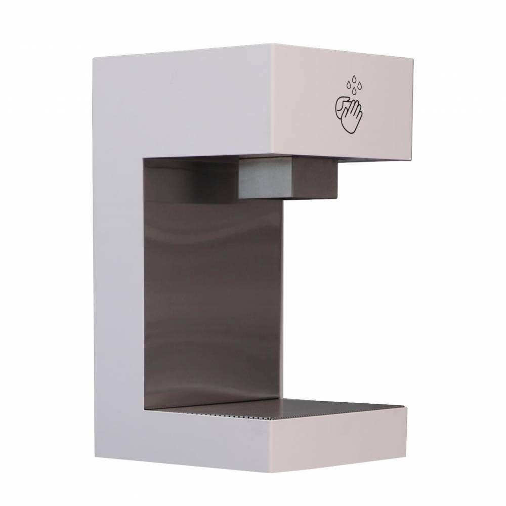 Station de désinfection des mains comptoir, blanc