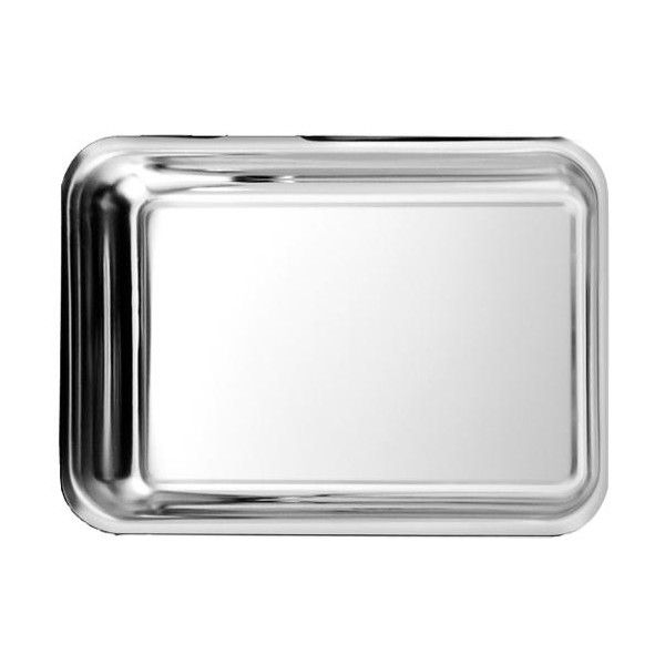 Plat à gratin / bac inox profond 4 itres 42,5 x 31 x 4,5 cm