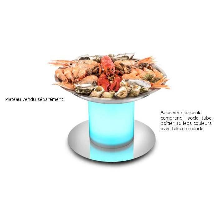 Base pour plateau fruits de mer lumineux (photo)