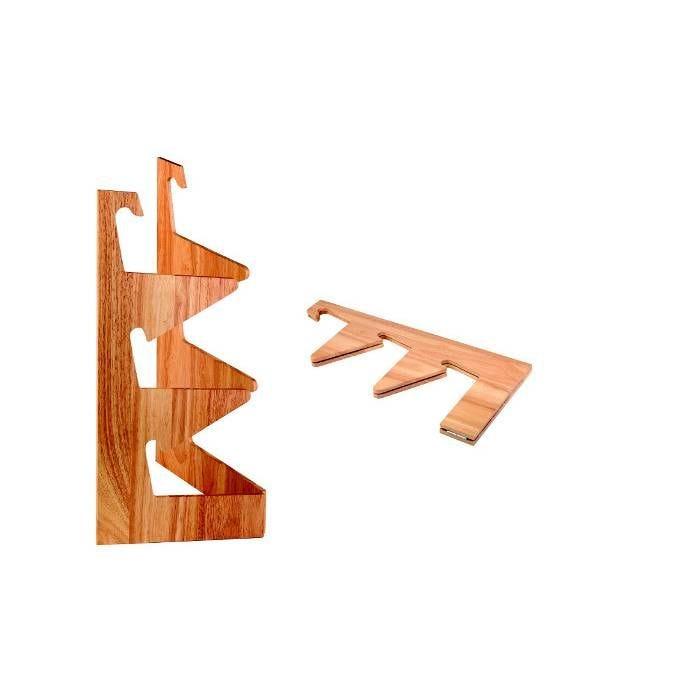 Présentoir bois pour 3 corbeilles (photo)