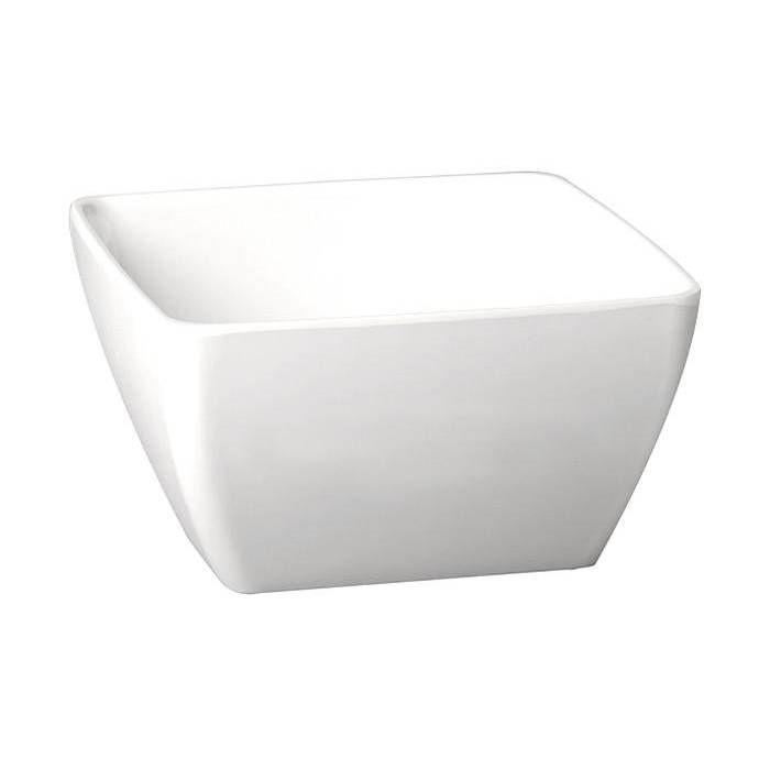 Saladier carré blanc 1.5 l (photo)