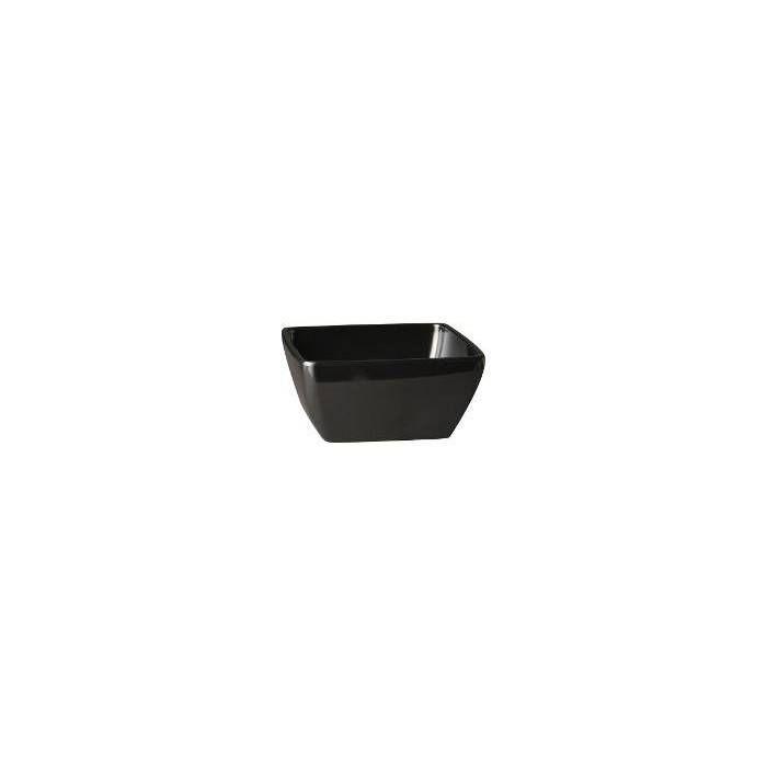 Saladier carré noir 0.4 l (photo)