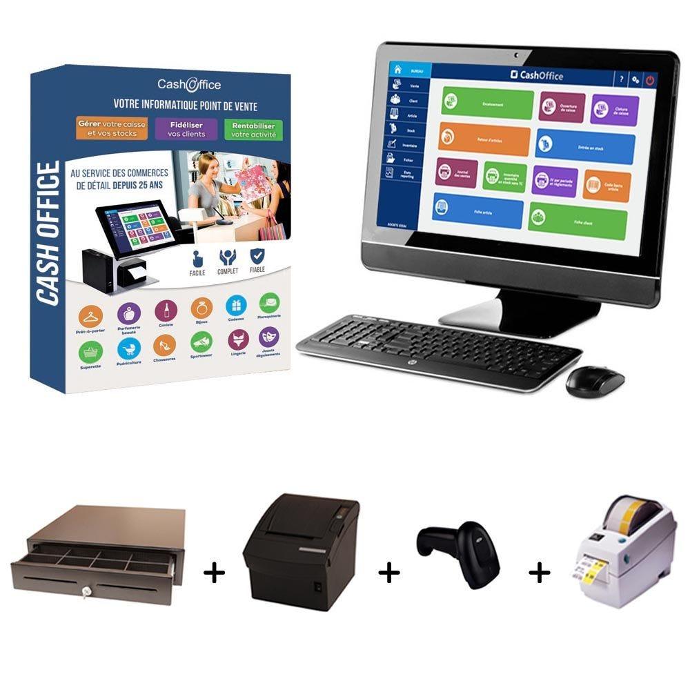 Pack encaissement cash office expert 2 spécial boutique cadeaux (photo)
