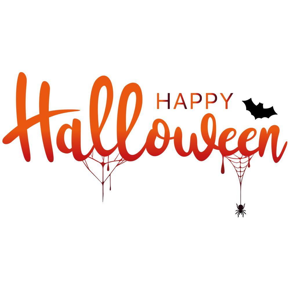 Vitrophanie Happy Halloween - 48 x 94 cm