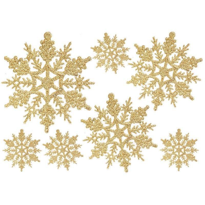 Vitrophanie cristaux or - 70 x 100 cm