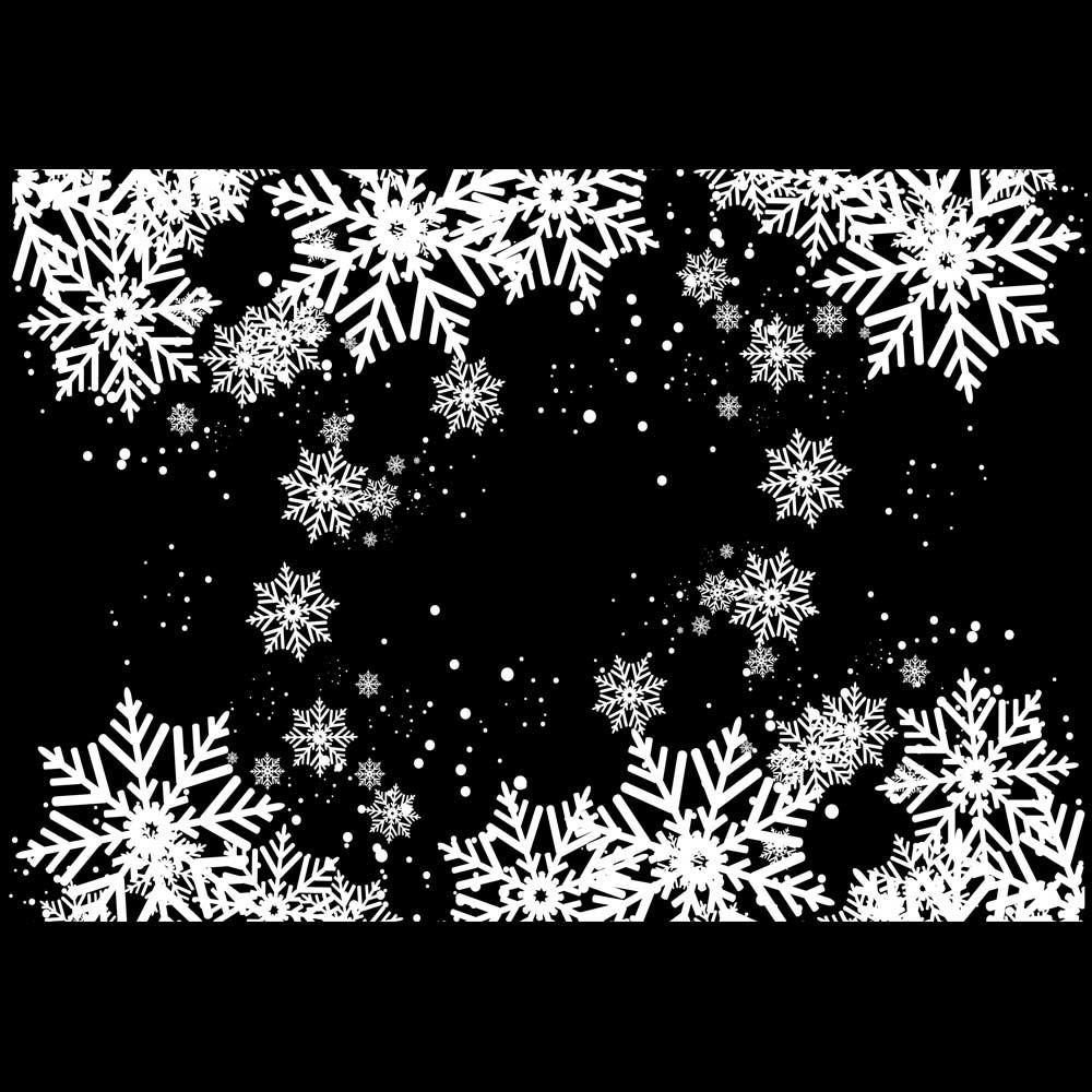Sticker 2 frises en cristaux coloris blanc 34 x 96 cm sur planche 70 x 100 cm (photo)