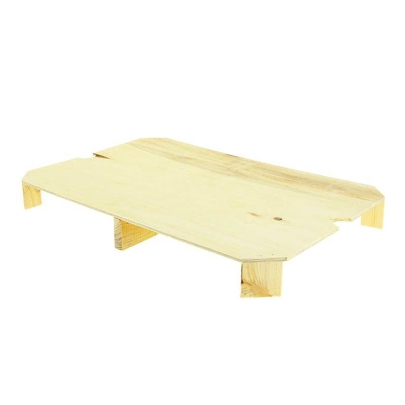 Faux fond bois 60x40x6 pour cagette - par 10
