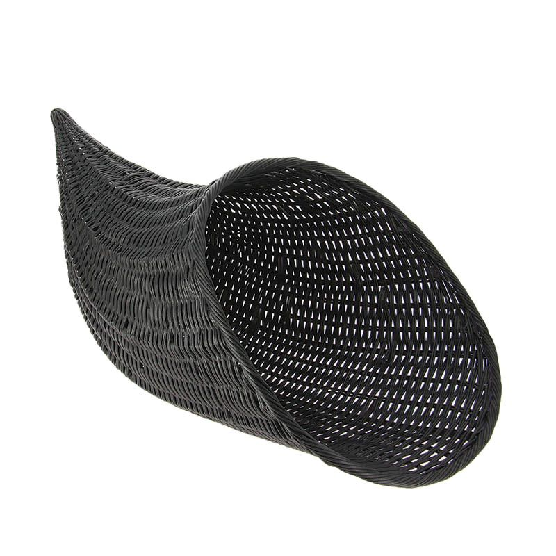 Corne d'abondance polypropylene noir mm - par 1