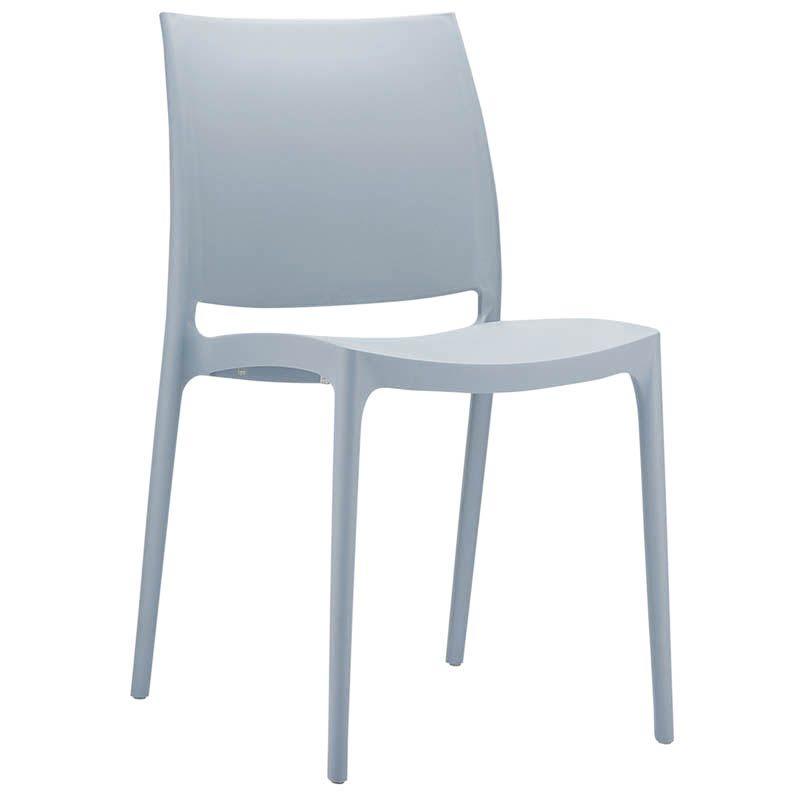Chaise inca - gris - par 1 (photo)