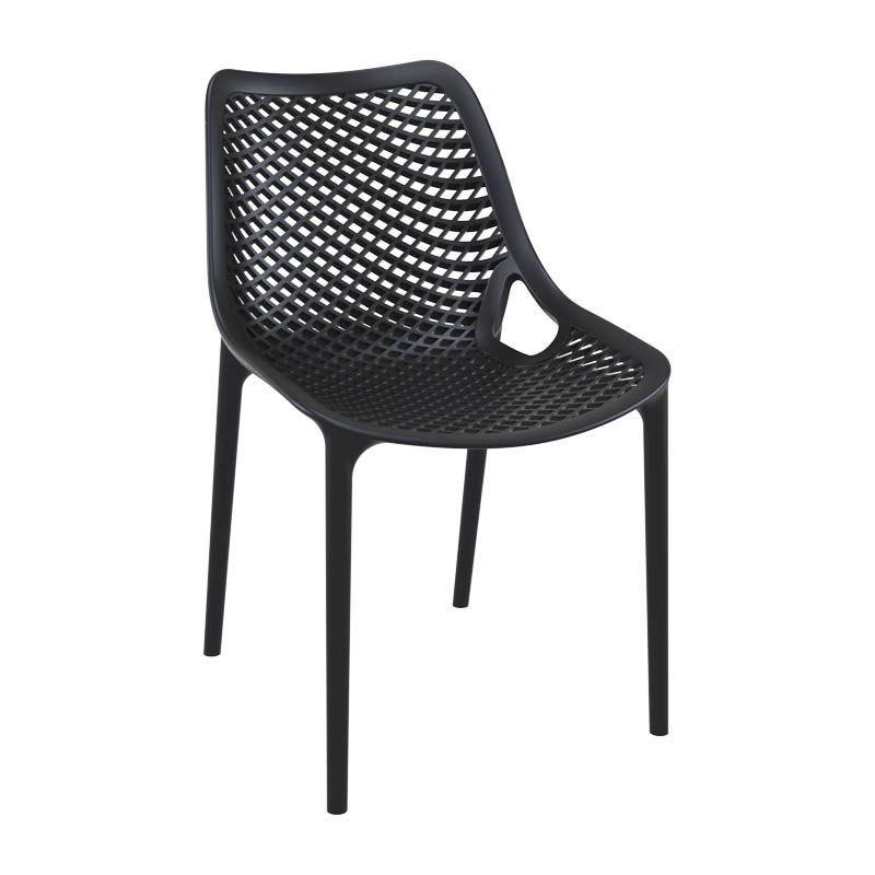 Chaise air - gris foncé -  par 1 (photo)