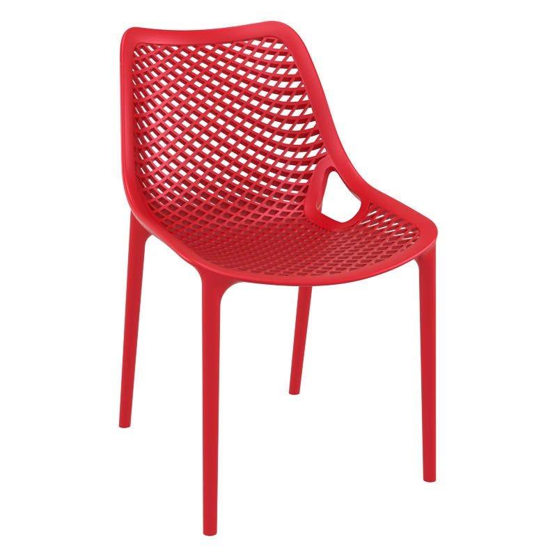 Chaise air - rouge - par 1 (photo)