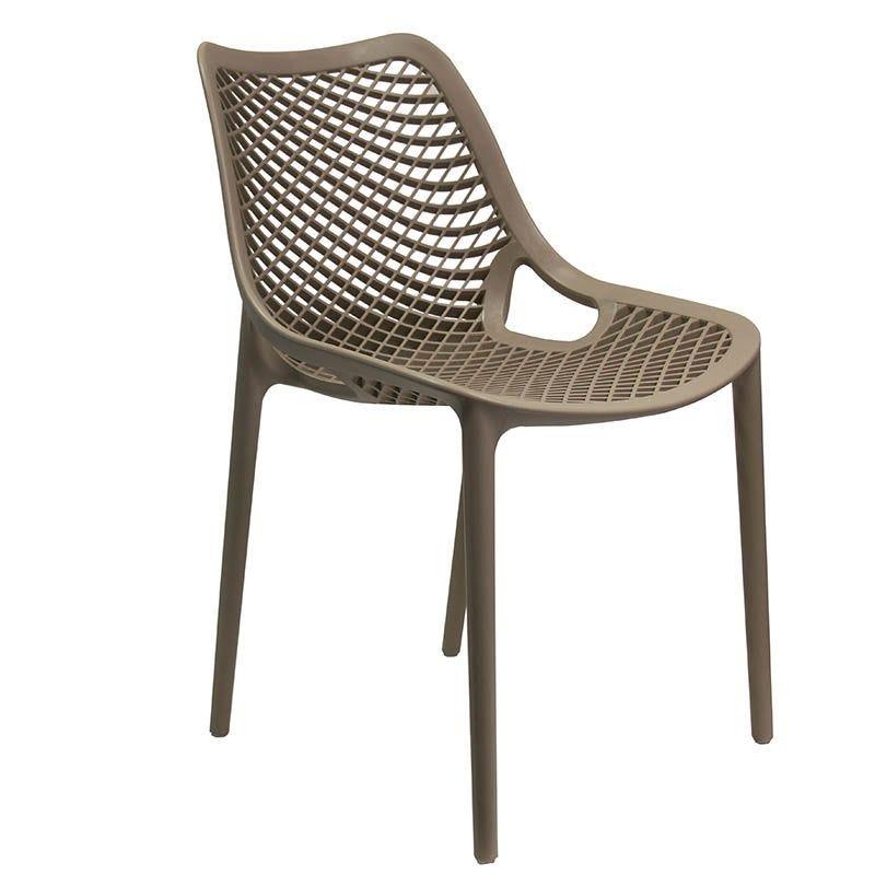 Chaise air - taupe - par 1 (photo)