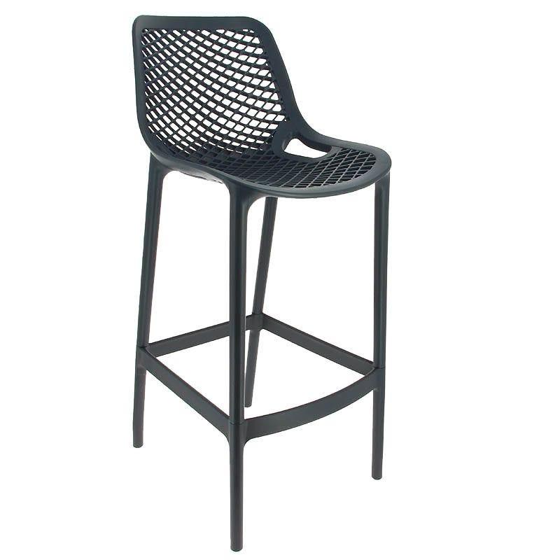 Chaise haute air - gris foncé - par 1 (photo)