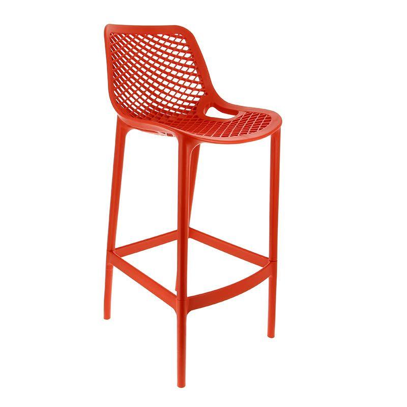 Chaise haute air - rouge - par 1 (photo)