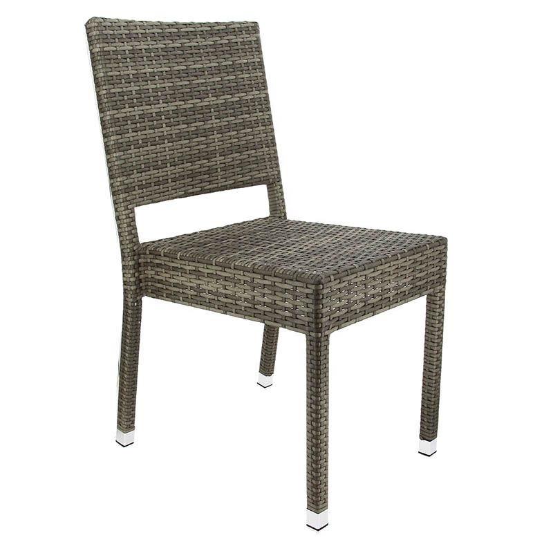 Chaise cannes - gris - par 1 (photo)