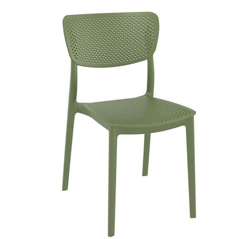 Chaise lucy - vert - par 1 (photo)