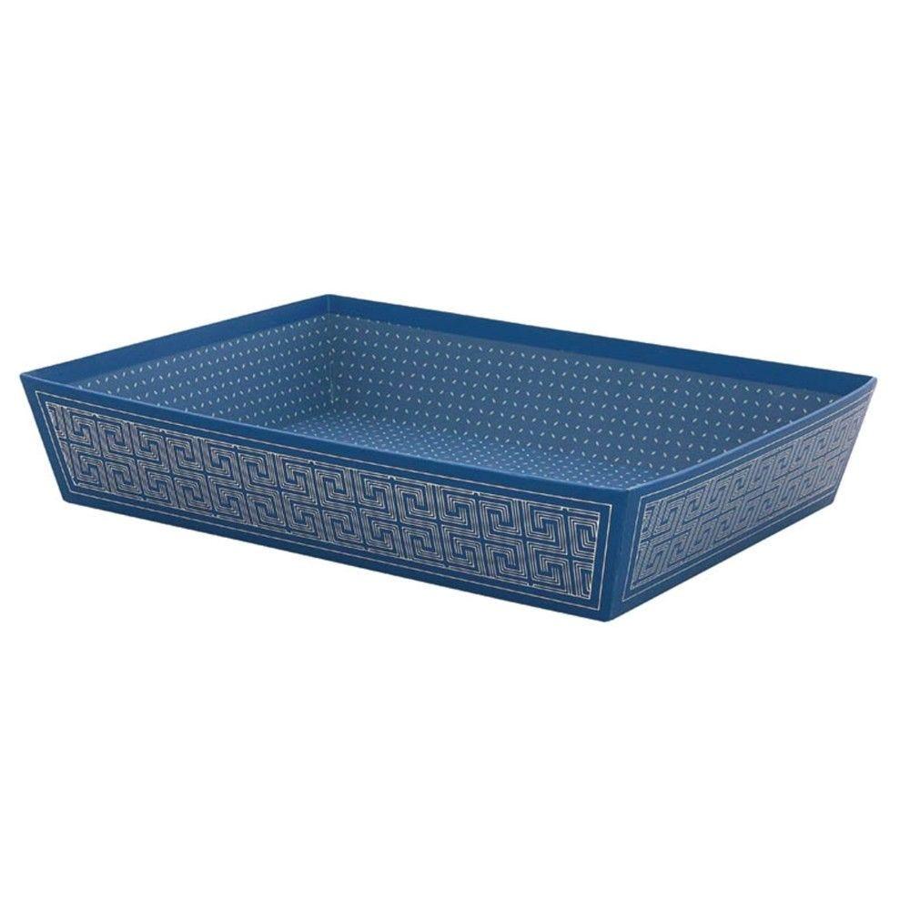 Corbeille rectangle carton icare gm - par 30