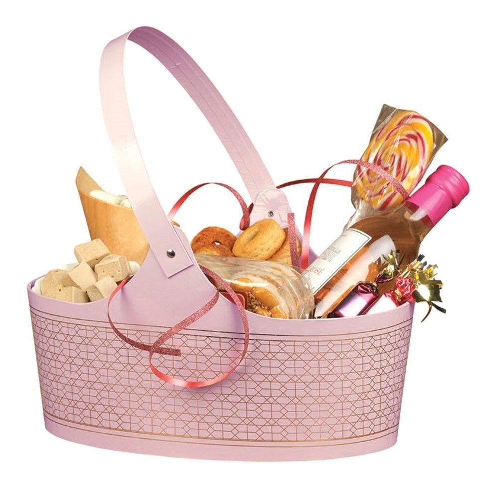 Panier totteur ovale carton candy pm - par 20