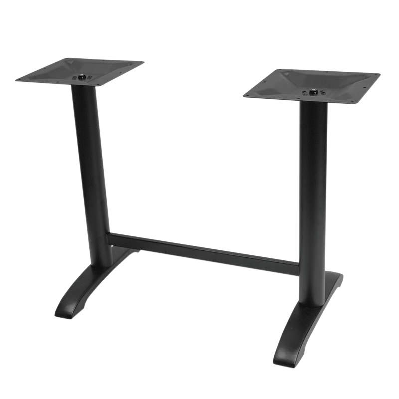 Piètement de table double detroit h72 cm (photo)