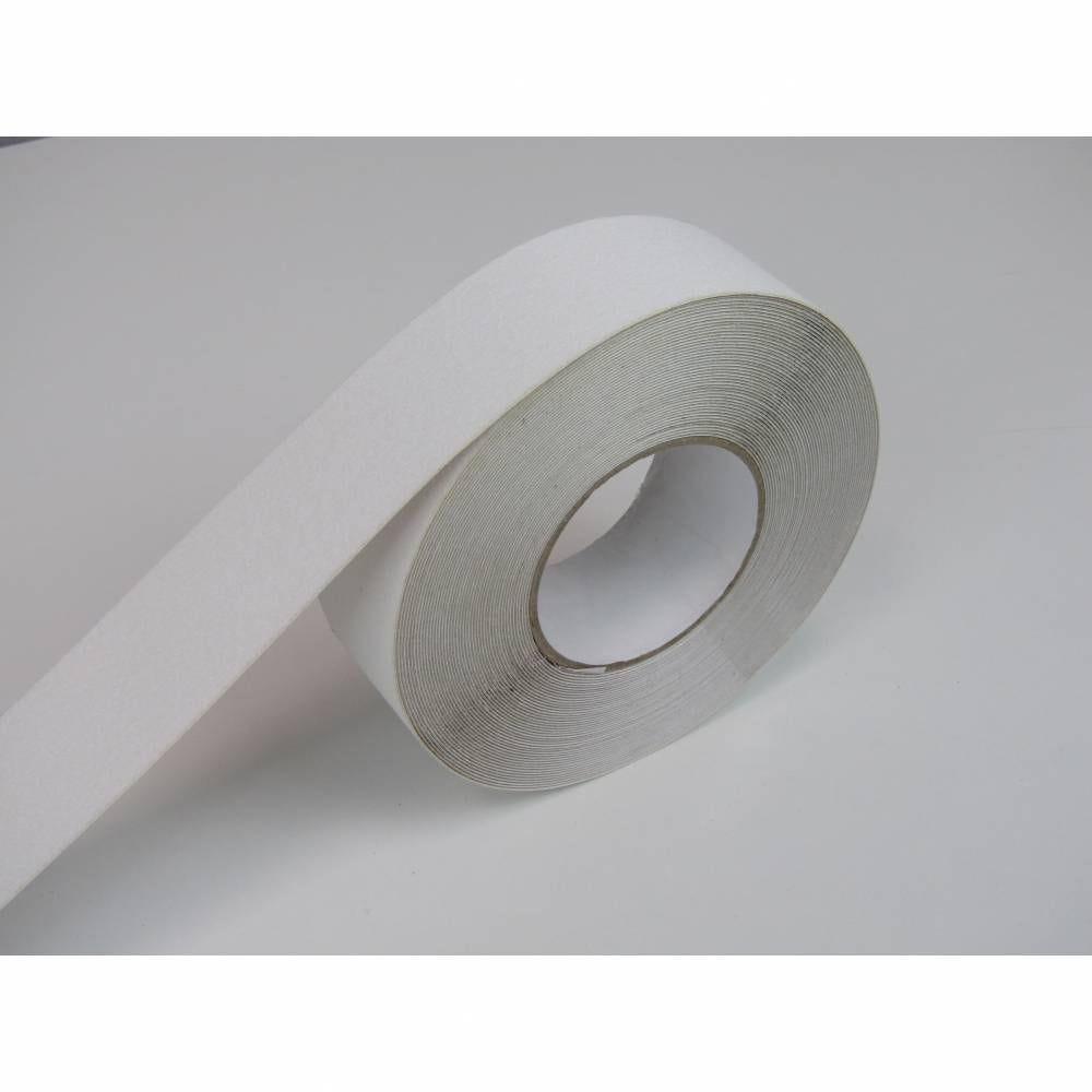 Nez de marche en rouleau adhésif coloris blanc - rouleau de 10 m