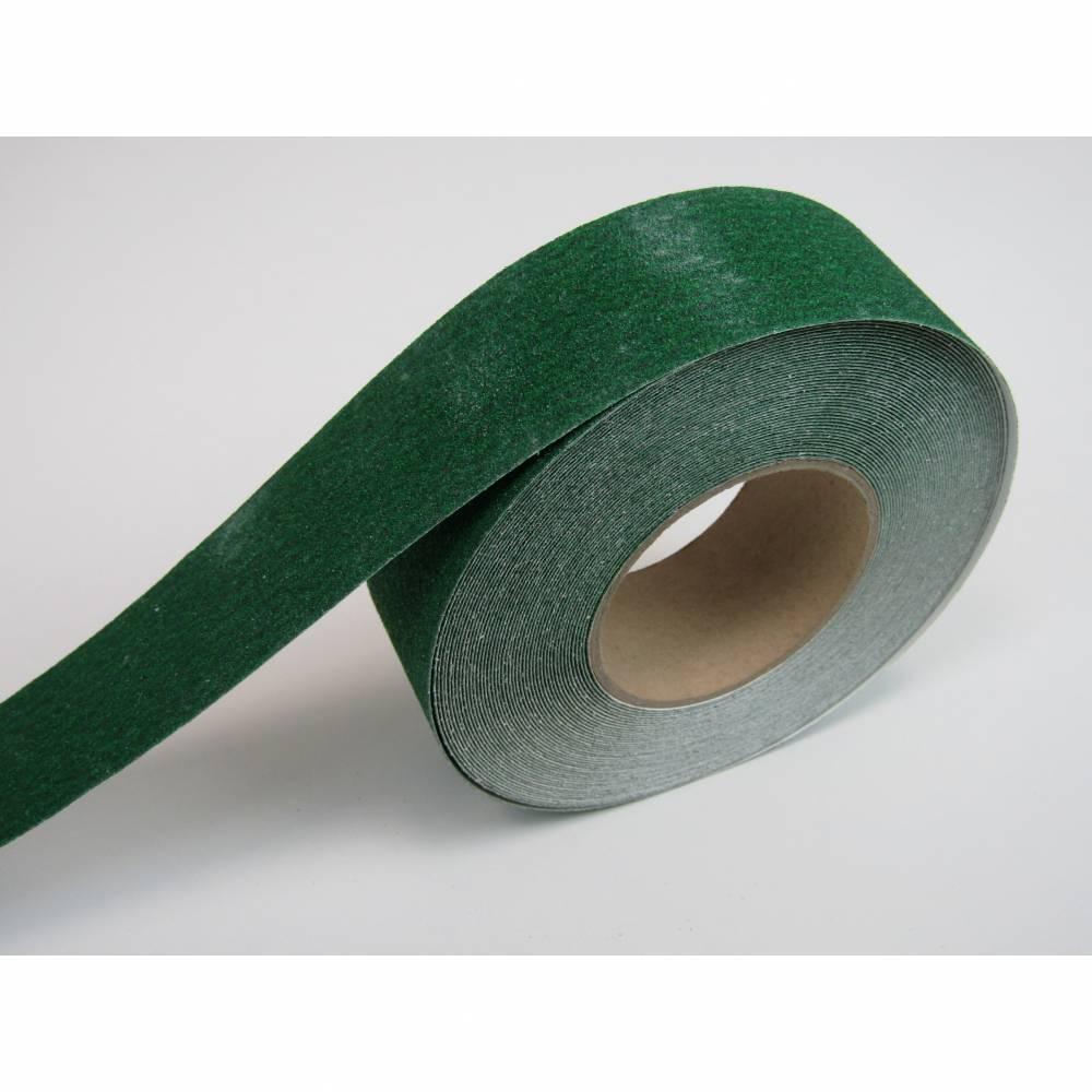 Nez de marche en rouleau adhésif coloris vert - rouleau de 10 m