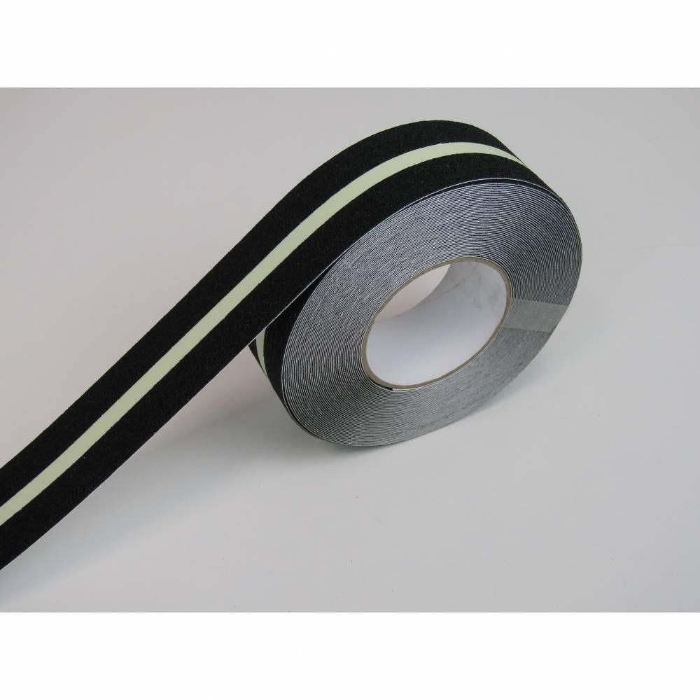 Nez de marche en rouleau adhésif coloris noir - rouleau de 10 m