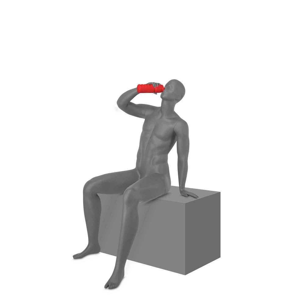 Mannequin homme avec tête abstraite, le foot, Top Sports