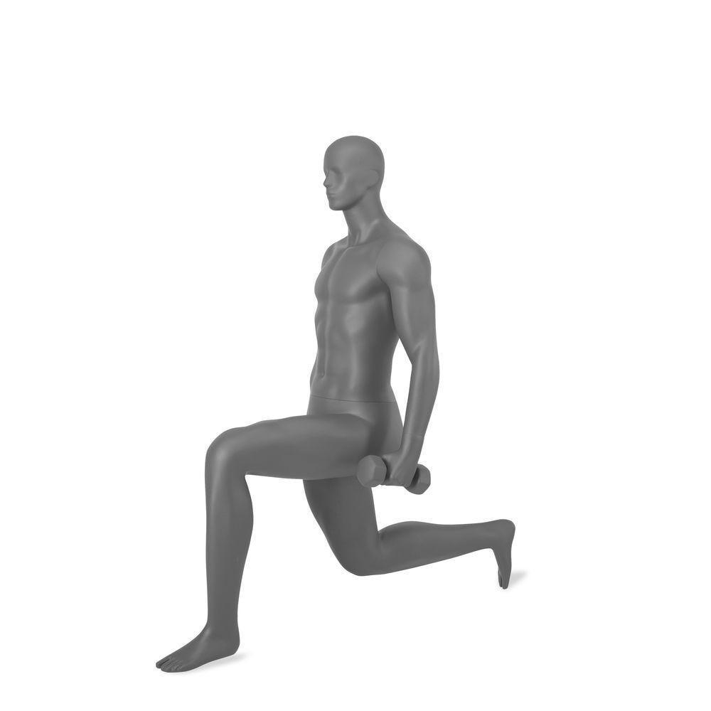 Mannequin homme avec tête abstraite, Fitness, Top Sports