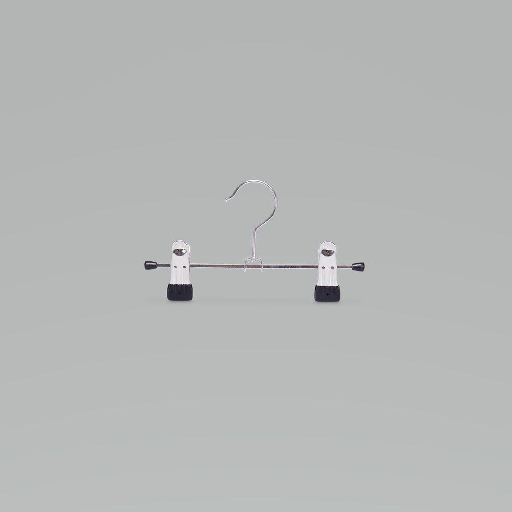 Cintre à pinces en métal chromé , 20 cm, par 100